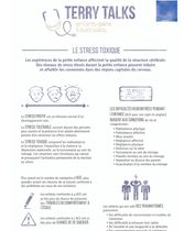 Terry Talks: Le Stress Toxique (Infographie)